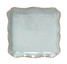 COSTA NOVA Alentejo collection. Square tray. Turquoise.
