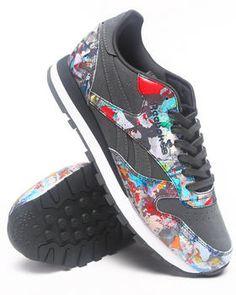 Reebok   Cl Lthr r12 city classics eklips los angeles sneakers