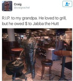 Poor grandpa...
