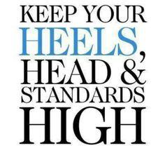 keep them high.....