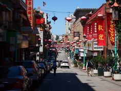 Chinatown San Fransisco! Think of all the travelling you could do on exchange in the US!