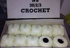 10 BALLS VINTAGE CROCHET COTTON Vintage Crochet, Balls, Positivity, Cotton, Ebay, Optimism