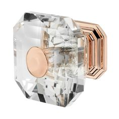 Wisdom Stone Clubhouse in. Rose Gold with Clear Crystal Cabinet Knob Wisdom Stone Clubhouse 1 Rose Gold Room Decor, Rose Gold Rooms, Rose Gold And Grey Bedroom, Kitchen Decor Themes, Home Decor, Gold Office, Copper Rose, Design Moderne, Cabinet Knobs