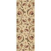Found it at Wayfair - Impressions Ivory Blooming Vine Area Rug  ..... to go with new sofa set in fam room?
