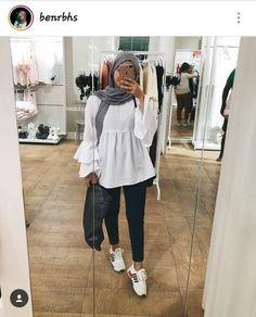 Hijab Fashion Summer, Modest Fashion Hijab, Modern Hijab Fashion, Street Hijab Fashion, Muslim Women Fashion, Casual Hijab Outfit, Hijab Fashion Inspiration, Hijab Chic, Hijab Dress