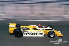 First victory for a Renault F1 car: Jean-Pierre Jabouille in a double turbo-charged RS 10