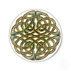 Celtic circle sticker