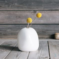 Ceramic Vase  by Stitch & Hammer