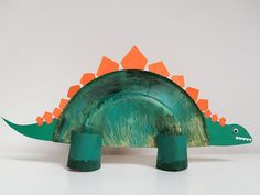 The Best Summer Crafts for Kids Daycare Crafts, Toddler Crafts, Diy Crafts For Kids, Fun Crafts, Dinosaur Projects, Dinosaur Crafts, Craft Projects, Real Dinosaur, Paper Towel Roll Crafts