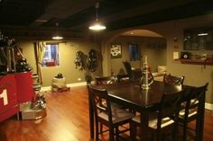 Firefighter Man Cave I want my future husband to have this