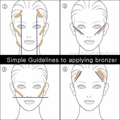 How Do I use a Bronzer? Top Tips on how to apply Bronzer by Maxime Poulin, Guerlain International Makeup Artist | My Women Stuff