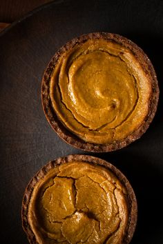 Squash Pie with a Tahini-Graham Crust | Lemon Fire Brigade