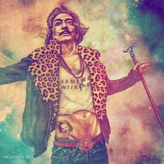 Portraits of Historical Badasses as 21st-Century Hipsters- Salvador Dali