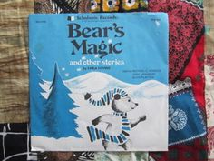 "Carla Stevens~Bears Magic And Other Stories VG+ Scholastic 7"" vinyl record $8.79"