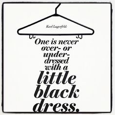 One is Never Overdressed