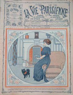 Édouard Touraine (1883 – 1916). La Vie Parisienne, 5 Novembre 1910. [Pinned 14-vii-2015]