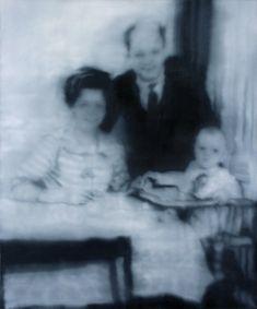 Gerhard Richter, Familie Wende (The Wende Family) 1971, 150 cm x 125 cm, Oil on canvas