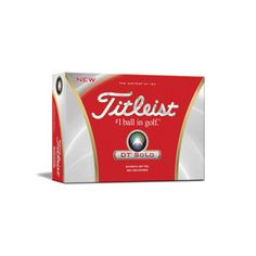 Titleist DT Solo golf balls. Our Golf Pro says this is a GREAT ball for 65c9630ed