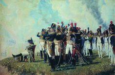 Наполеон под Москвой 1812 г.