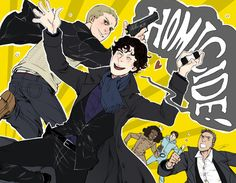 johnlock fan art | Fanart - Sherlock on BBC One Fan Art (33018446) - Fanpop fanclubs