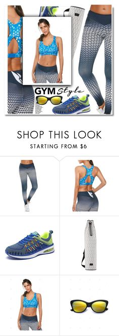 """Work It Out: Gym Essentials"" by paculi ❤ liked on Polyvore featuring Dagmar and gymessentials"