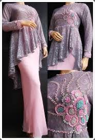 Image result for dress muslimah modern brokat