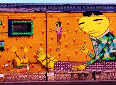 Graffiti at Pireos street Athens (by Marilena Salamanou )