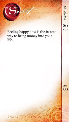 Happy…Joy…Money…