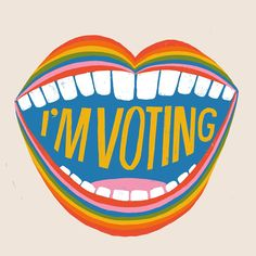 Today is National Voter Registration Day! If you are not registered to vote, today is your day! Show your voter prid National Voter Registration Day, Graffiti, Protest Art, Today Is National, Feminist Art, Election Day, Pretty Words, Wall Collage, Logos