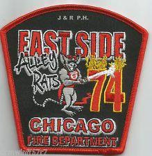 """Chicago Fire Dept. Engine 74 """"Eastside Alley Rats"""""""
