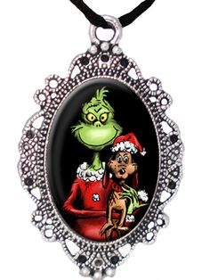 """""""Grinch and Max"""" Cameo by Alkemie Apparel"""