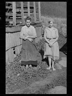 Fanny Corbin, the mother of twenty-two children, Shenandoah National Park, Virginia