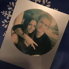 """""""Just finished filming my last Stefan and Elena scene with the amazing Paul Wesley,"""" Dobrev said. """"Crazy. So many emotions. I'm lost for words."""""""