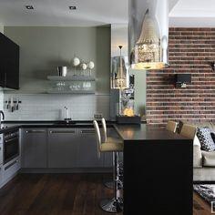 Interior design of apartments in the residential complex Avenue 77