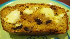 Low Carb Pumpkin, Peanut Butter and Cranberry Bread