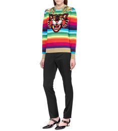 Шерстяной свитер Gucci 478653 217/9H0 img4