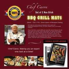 Ever barbecue a pancake? What about an egg,  or hashbrowns? Now you can with the Chef Caron BBQ Grill Mat! http://www.amazon.com/Chef-Caron-BBQ-Grill-Triple-Coated/dp/B00KEDGQ9C/ref=sr_1_16?ie=UTF8&qid=1414956851&sr=8-16&keywords=bbq+grill+mat