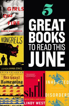 5 Great Books To Read In June