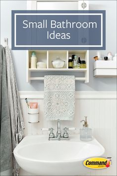 Mar 2020 - Small Bathroom Design Ideas - Diy Projects Cool - Kmart hack bathroom caddy shelves painted black and white to make it more modern - Home Interior, Home Design, Interior Design Living Room, Design Ideas, Small Bathroom Storage, Storage Spaces, Bathroom Caddy, Storage Ideas, Bathroom Ideas