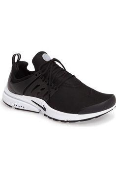 Men'S Air Presto Essential Running Sneakers From Finish Line, Black/ Black/  White. Nike MenAir PrestoNike ShoesSneakerEssentialsNike ...