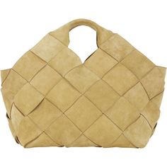 LOEWE Basketweave Large Tote (€3.255) ❤ liked on Polyvore featuring bags, handbags, tote bags, gold, beige purse, loewe handbag, beige handbags, loewe purse and tan purse