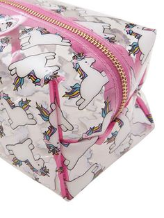 Skinnydip Chubby Unicorn Make Up Bag