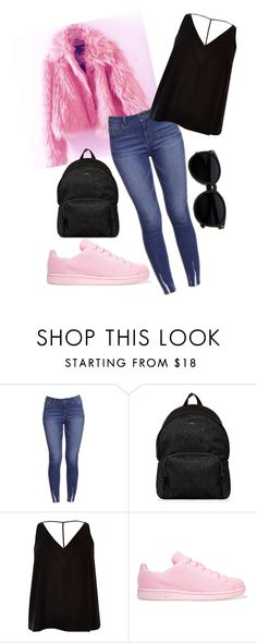 """""""Untitled #498"""" by sikarjazmin on Polyvore featuring Hogan, River Island and adidas Originals"""