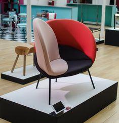 Séduisant fauteuil design Alice Vincent - Ecole Bleue
