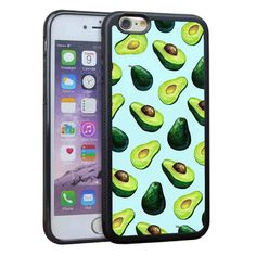 Avocado Pattern Silicone Cases Cover for IPhone 7,iPhone 6s 5S SE,6 Plus,7 Plus