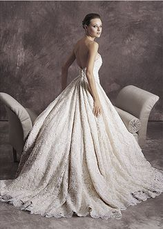 wedding dress (tomasina 1210)