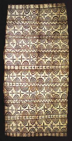 Hiapo is the Niuean word (Niuean language is a Polynesian language, belonging to the Malayo-Polynesian subgroup of the Austronesian languages) for tapa cloth. Motifs Textiles, Textile Patterns, Textile Design, Ethnic Patterns, Surface Pattern, Pattern Art, Tapas, Polynesian Art, African Textiles