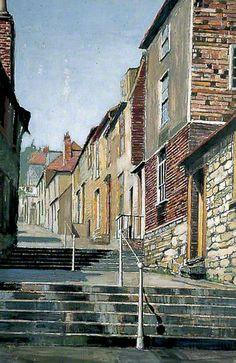 Church Hill Steps, Hythe, Kent by Arthur Baker-Clack