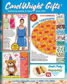 Carol Wright Gifts catalog on Catalog Spree