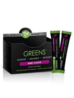 Greens on the Go™ - Berry www.wrappinguslim.com